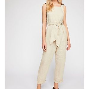 Coladas all day Free People jumpsuit